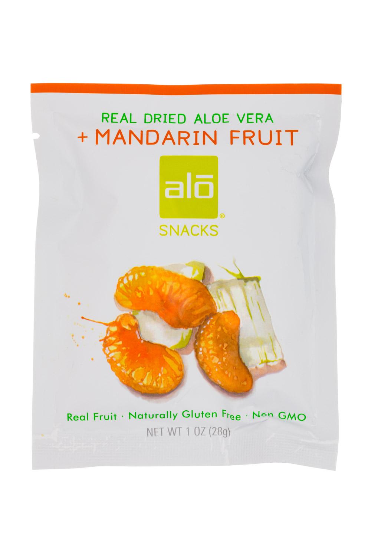 Real Dried Aloe Vera + Mandarin Fruit