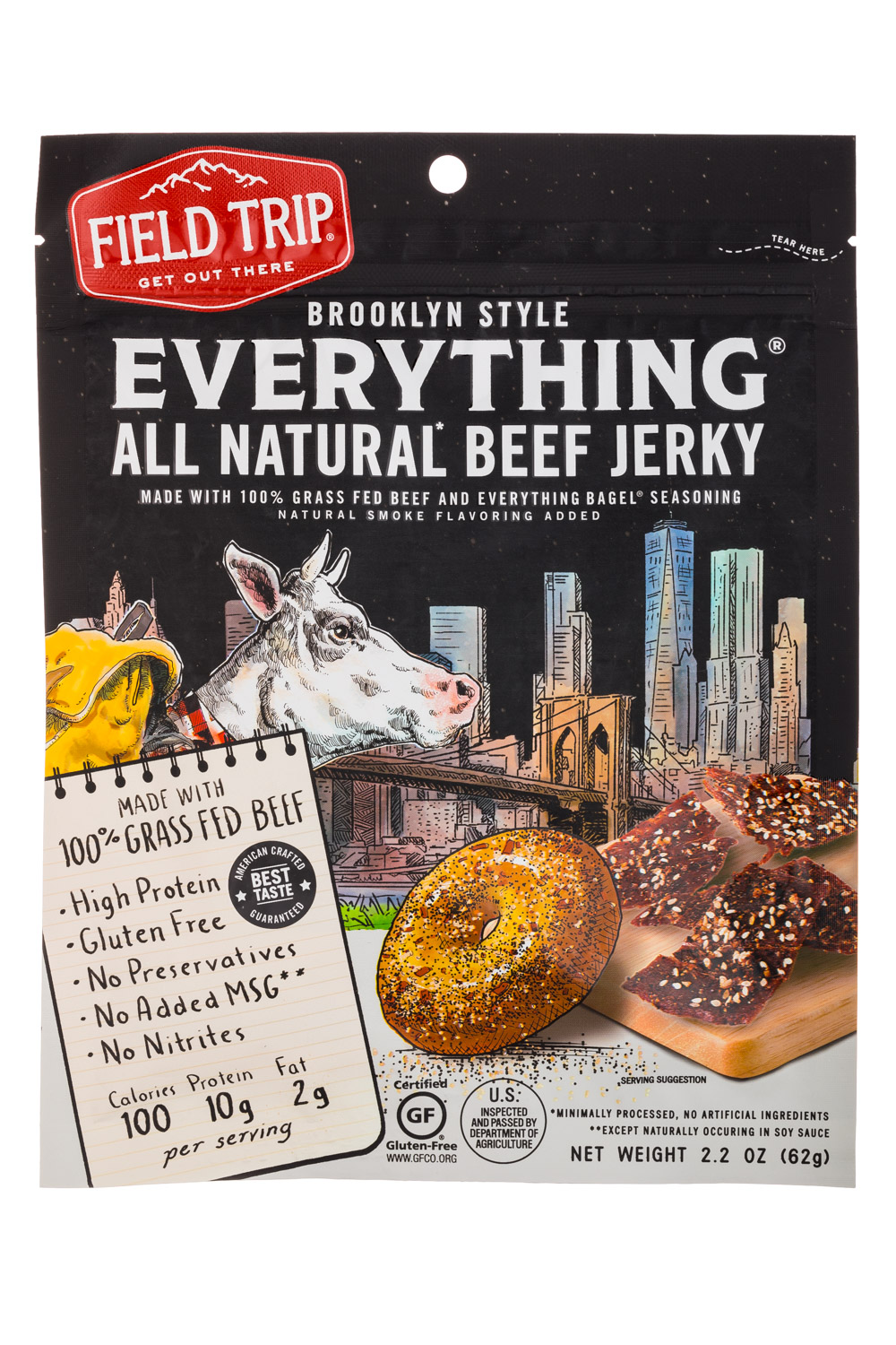 Brooklyn Style - Everything All Natural Beef Jerky