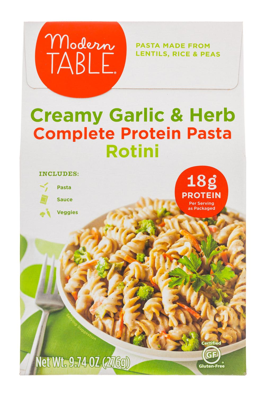 Creamy Garlic & Herb Rotini