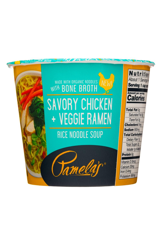 Savory Chicken + Veggie Ramen