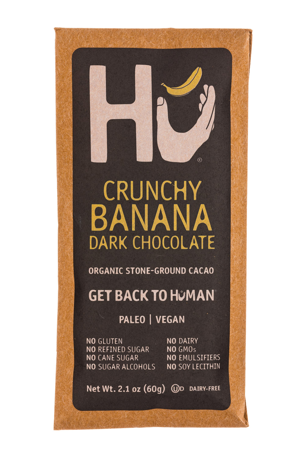 Crunchy Banana Dark Chocolate