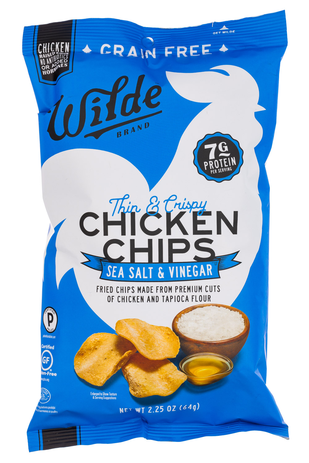 Sea Salt & Vinegar Chicken Chips