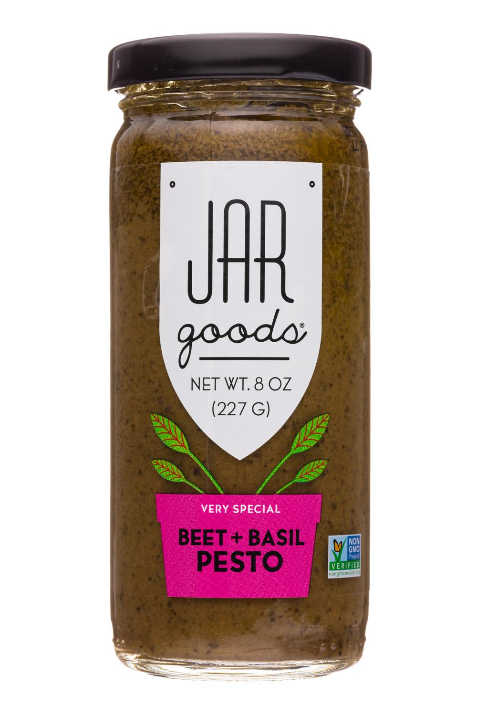 Beet + Basil Pesto