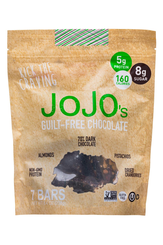 JoJo's Guilt-Free Chocolate (7 bars bag)