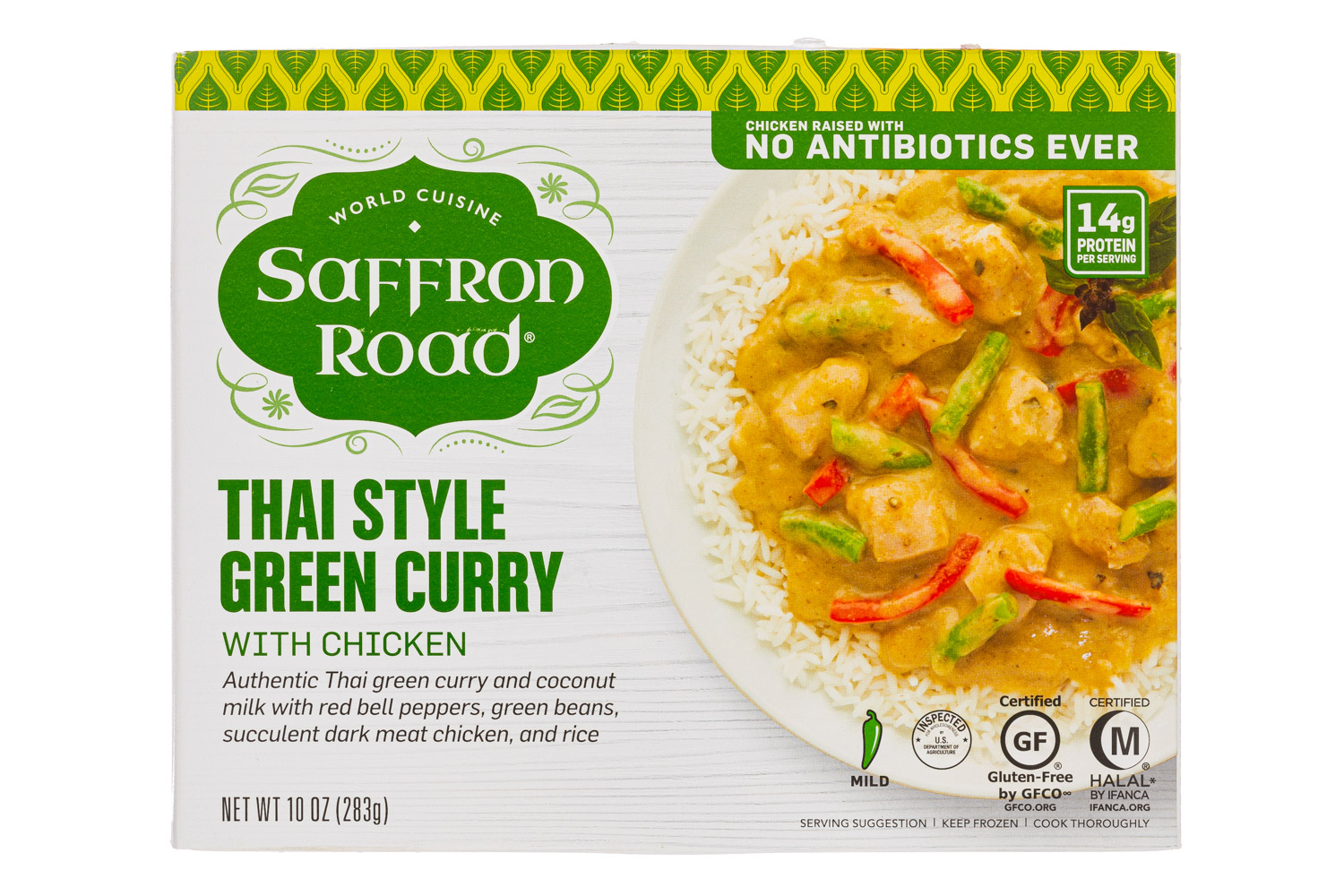 Thai Style Green Curry with Chicken