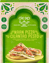 Naan Pizza - Cilantro Pesto