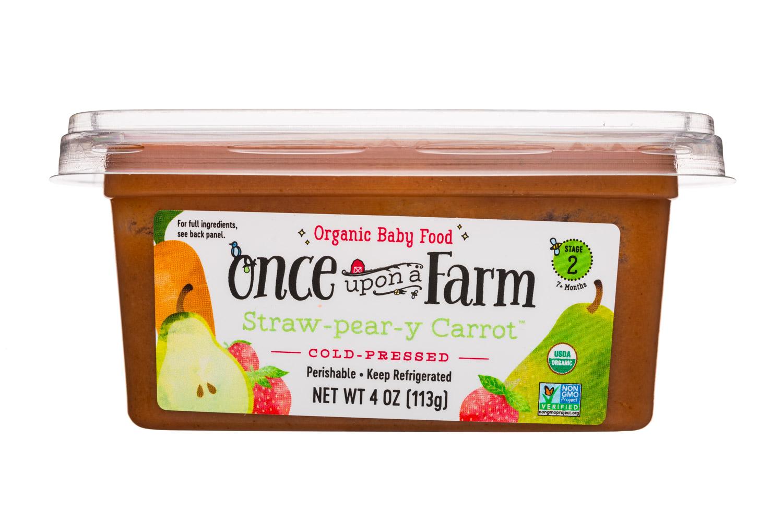 Straw-pear-y Carrot