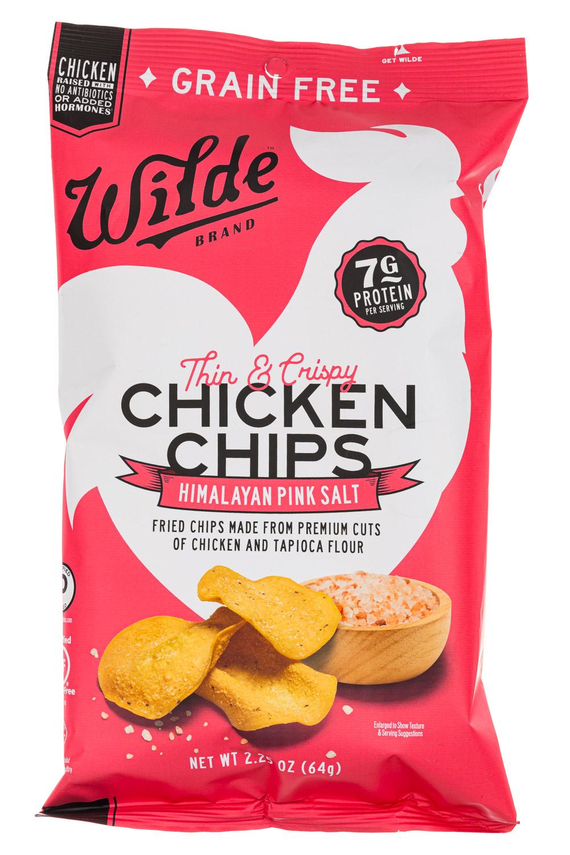 Himalayan Pink Salt Chicken Chips