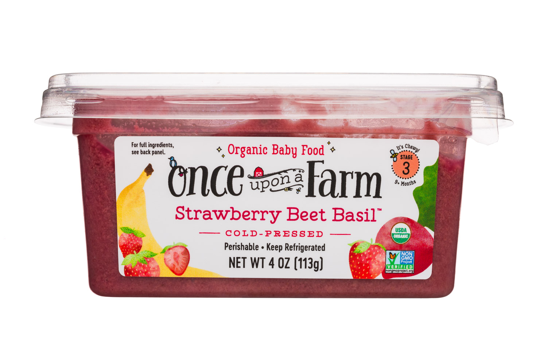 Strawberry Beet Basil