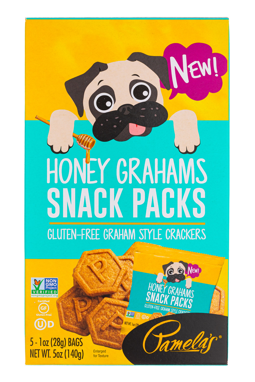 Honey Grahams (Snack Packs)