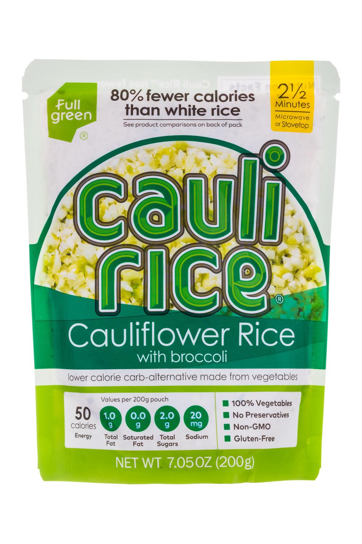 Cauliflower Rice with Broccoli