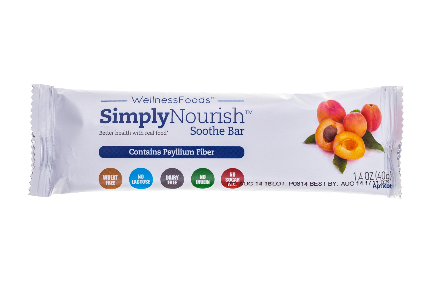 simply nourish Soothe bar- Apricot