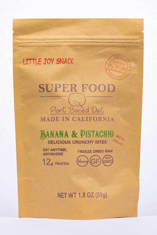 Banana & Pistachio