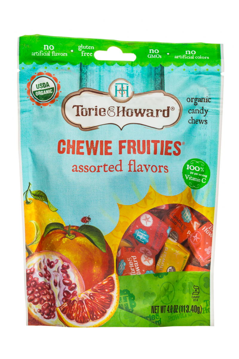 Assorted Flavors Chewie Fruities