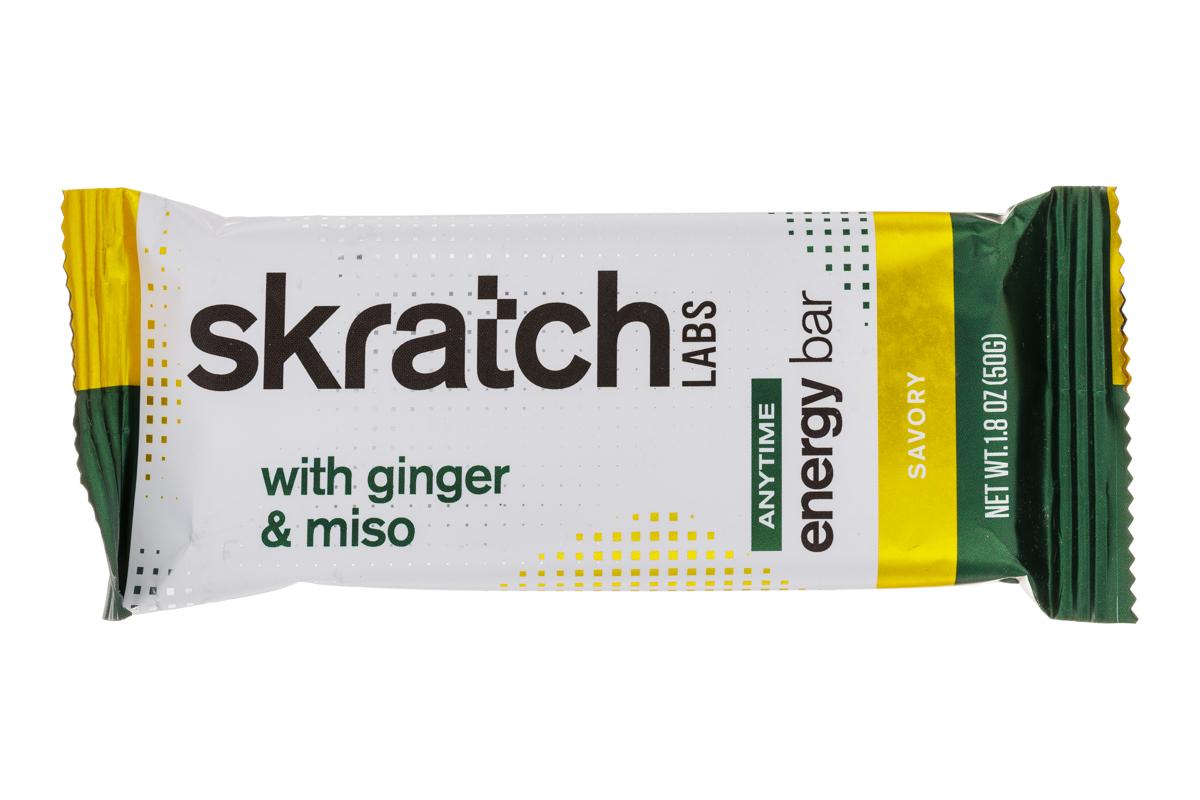 Ginger & Miso Energy Bar