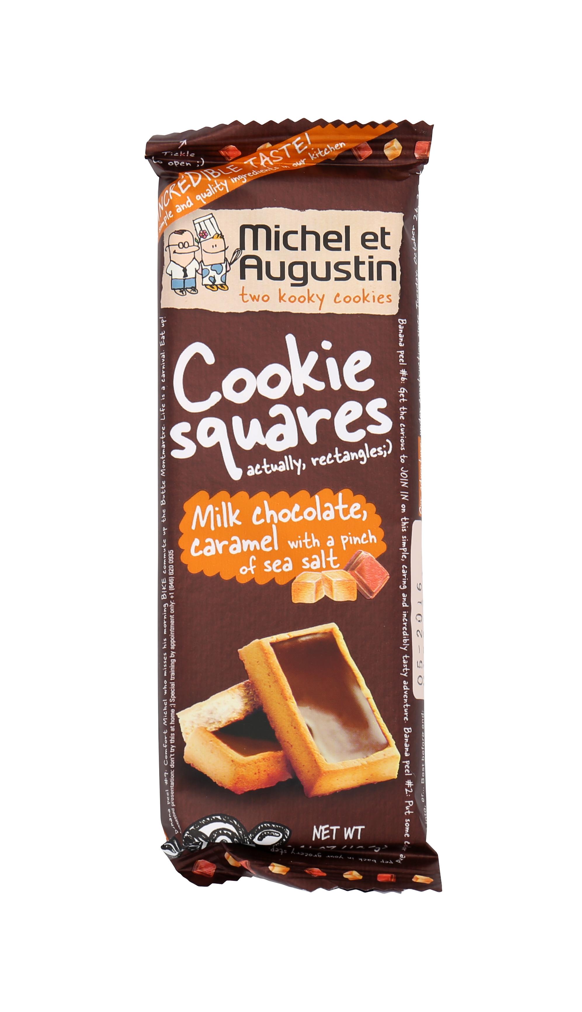 Milk Chocolate, Caramel with A Pinch of Salt