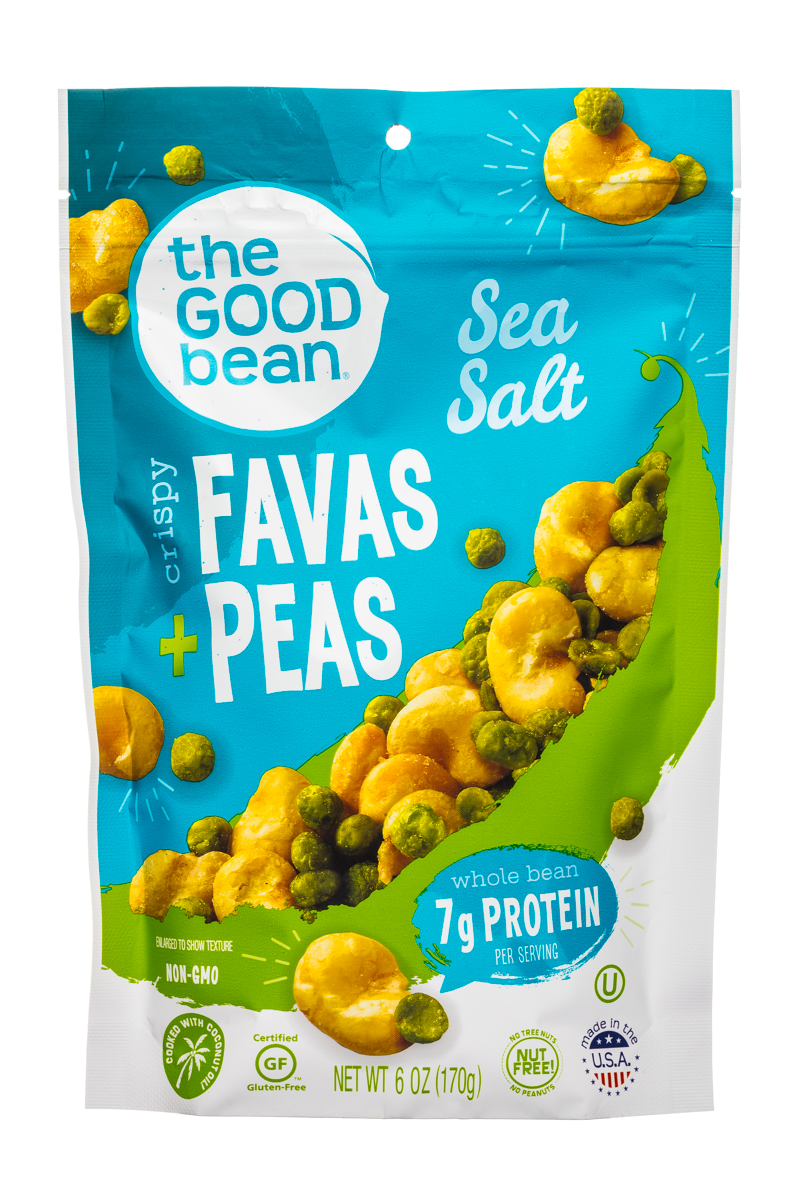 Favas + Peas- Sea Salt