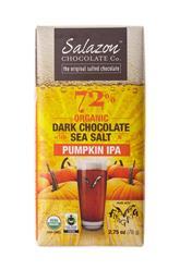72% Organic Chocolate with Sea Salt - Pumpkin IPA