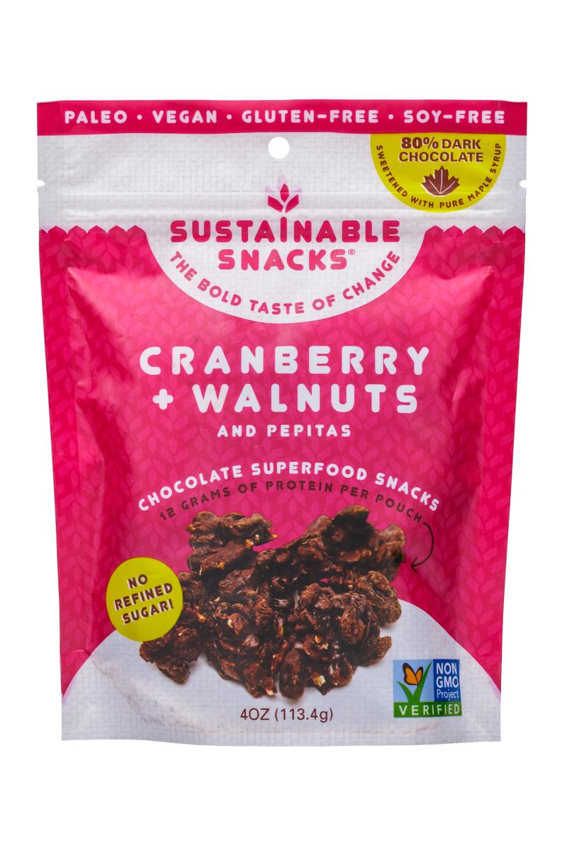 Cranberry + Walnuts