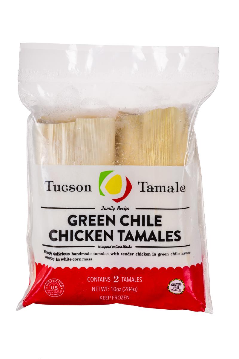 Green Chili & Chicken Tamales