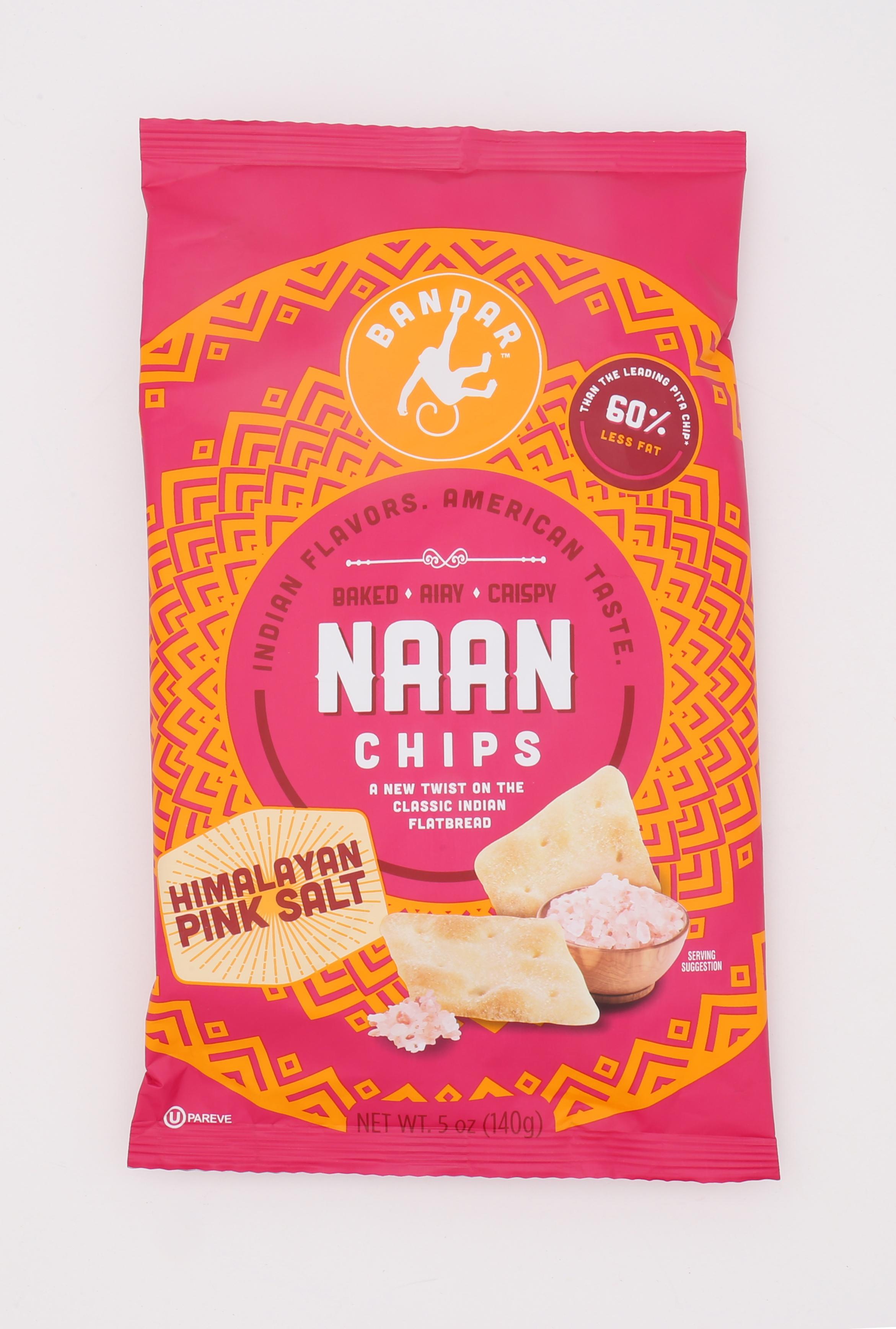 Naan Chips - Himalayan Pink Salt