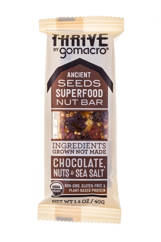 Chocolate nuts & sea salt