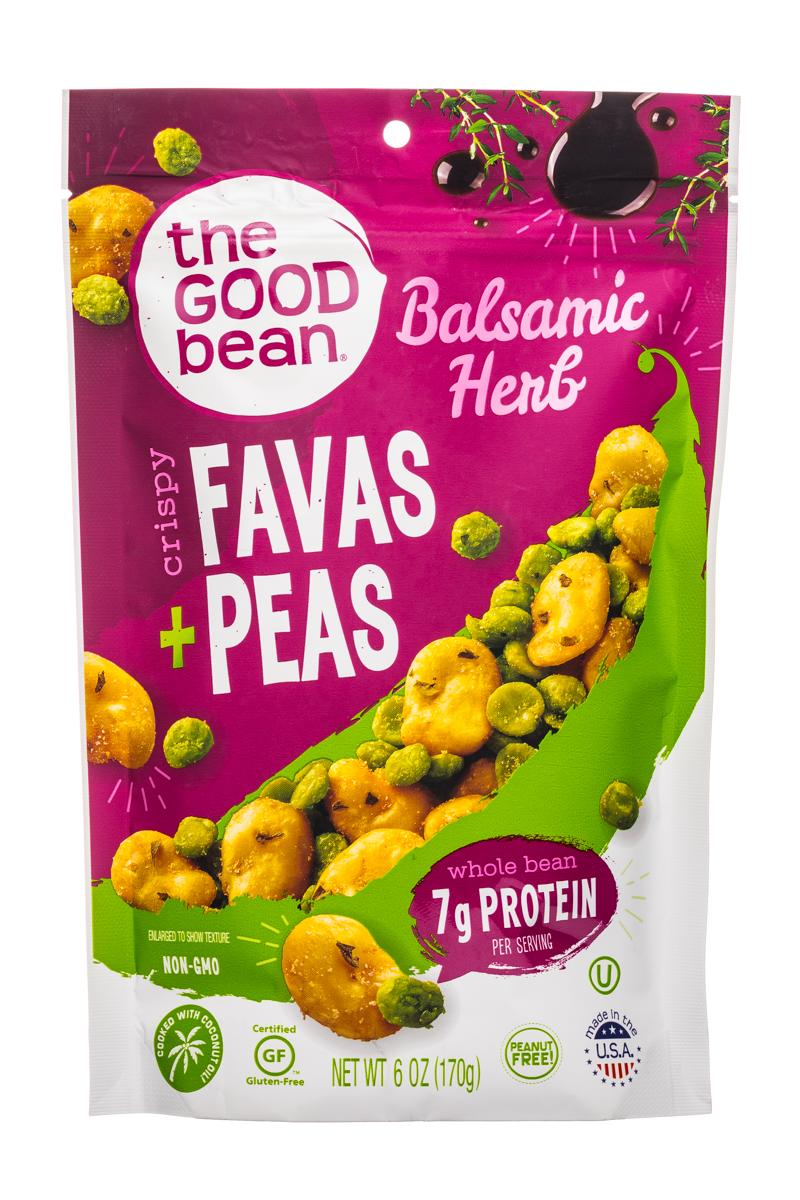 Favas + Peas- Balsamic Herb
