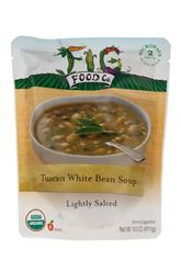 Tuscan White Bean Soup - Lightly Salted