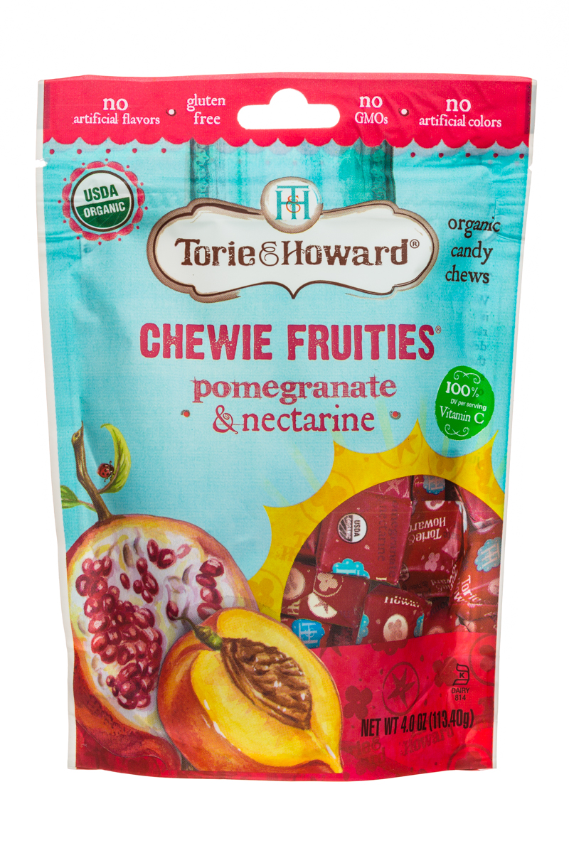 Pomegranate & Nectarine  Chewie Fruities