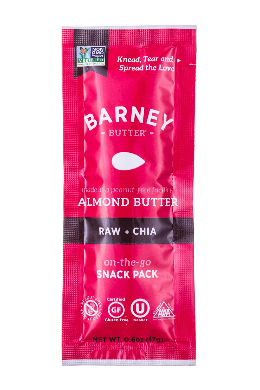 Almond Butter- Raw+Chia
