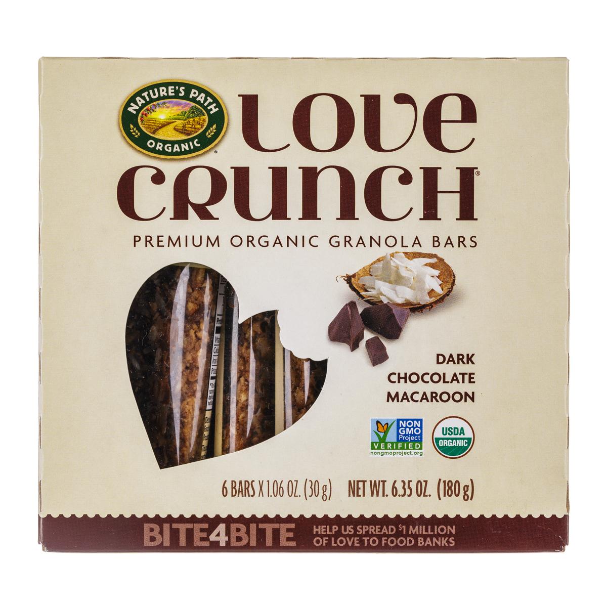 Dark Chocolate Macaroon Granola Bars