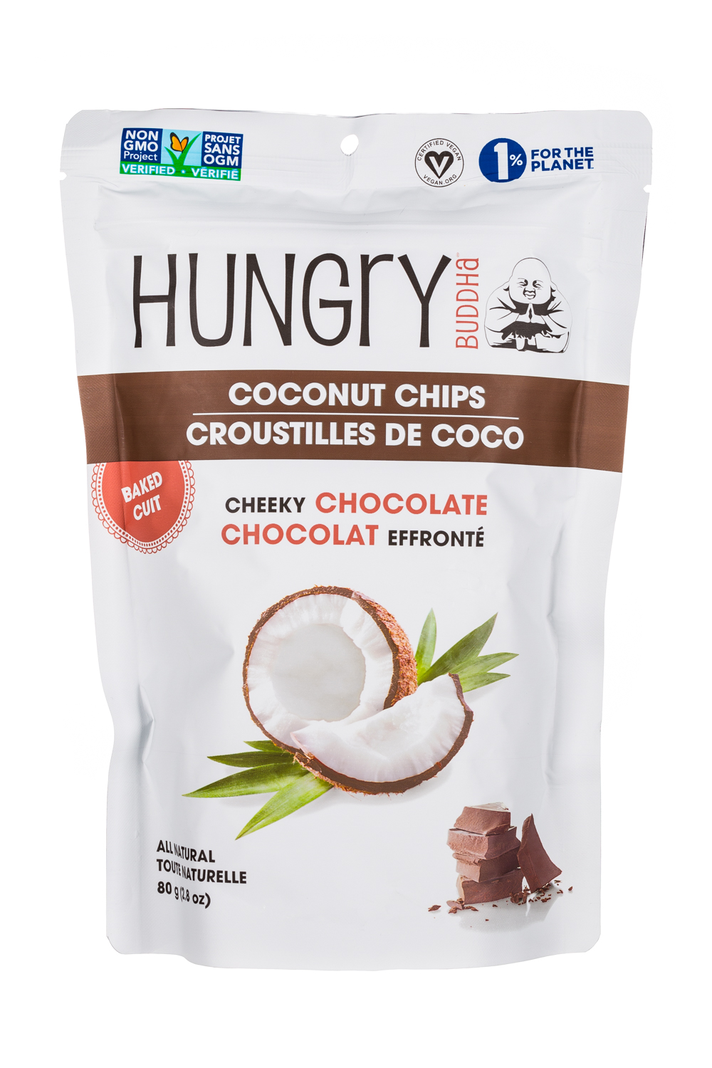 Cheeky Chocolate Chocolat Effronte- 80 g Pack