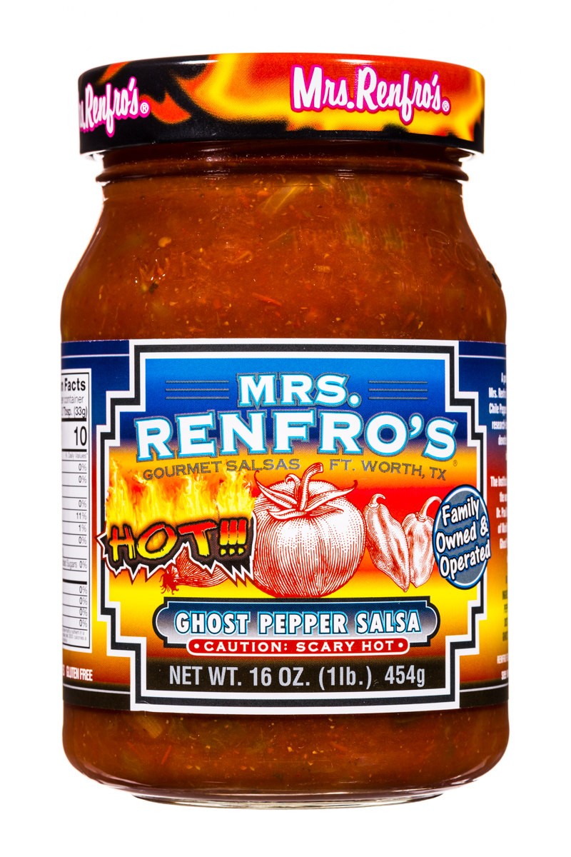 ghost Pepper Salsa-scary hot!