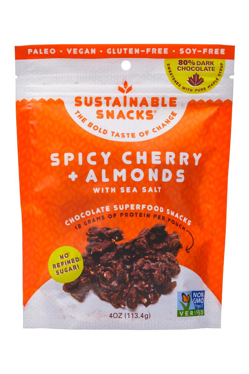 Spicy Cherry + Almonds