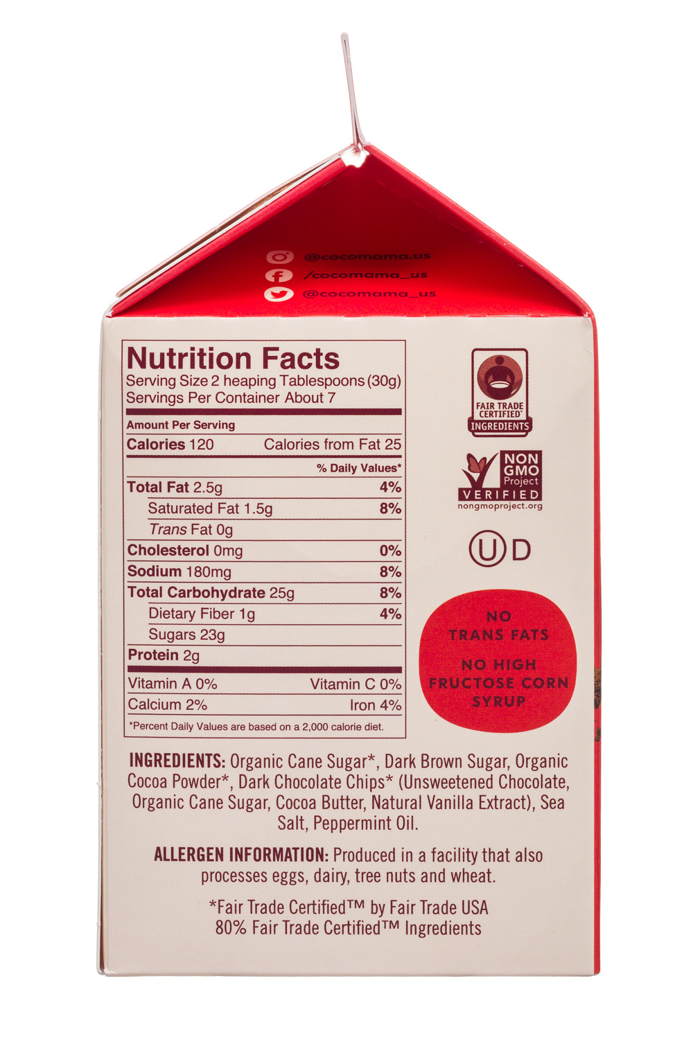 View Media | 8842 | Cocomama-8oz-HotCocoa-DarkChoc-Peppermint-Facts