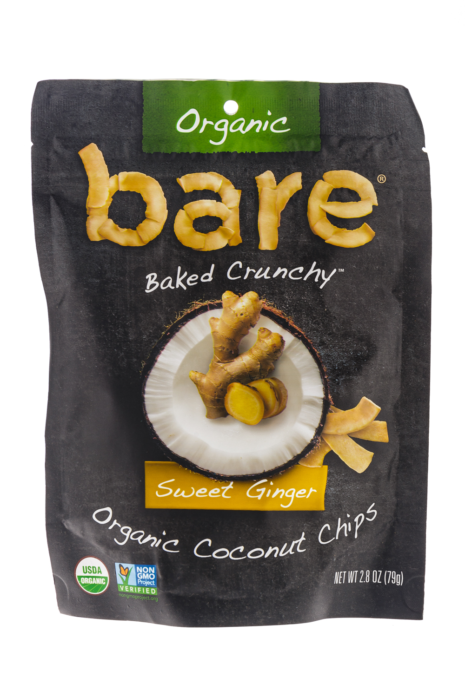 Sweet Ginger Coconut Chips