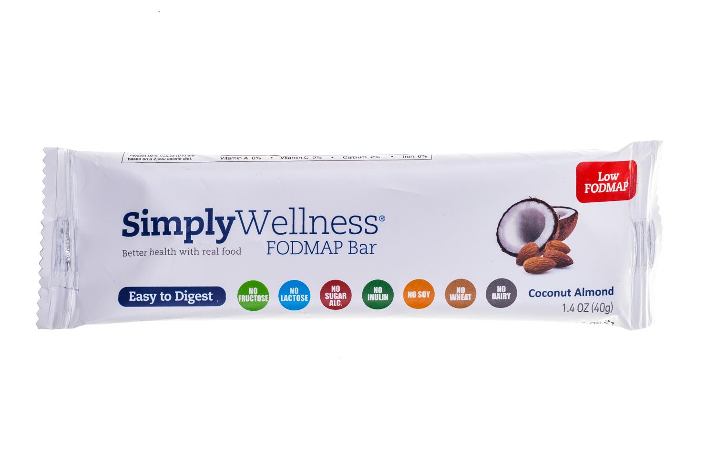 simply wellness FODMAP Bar- coconut Almond