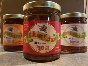 Rollicking Buckaroo Pepper Jam